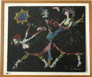 Three clowns Avignon original for web