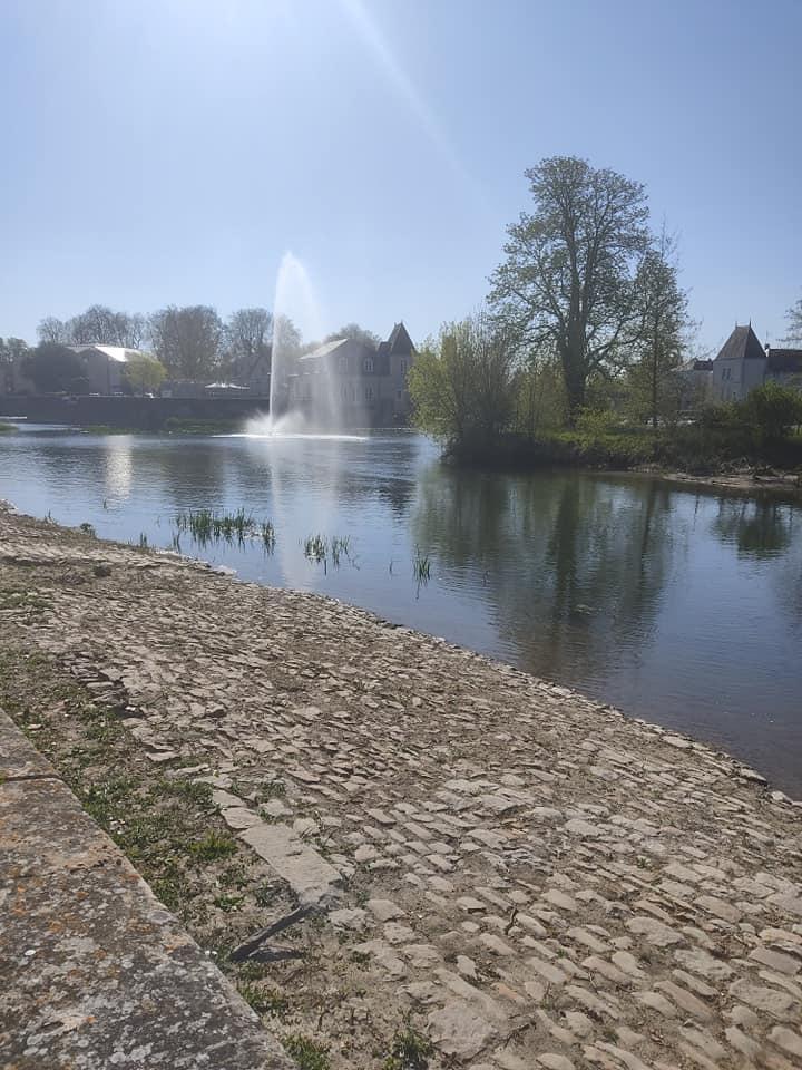 Fountain at la fleche