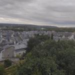 View across mediaeval Chinon